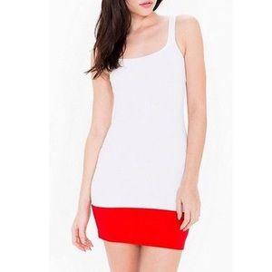 American Apparel color block dress